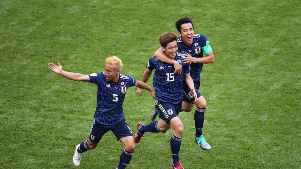 Япония забивает гол
