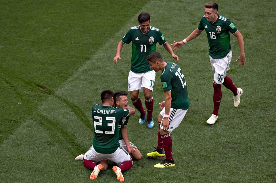Сборная Мексики обыграла Германию 1:0