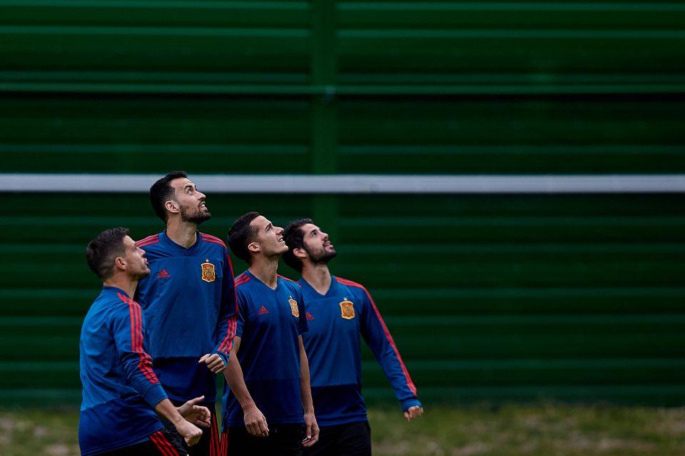сборная Испании тренировка