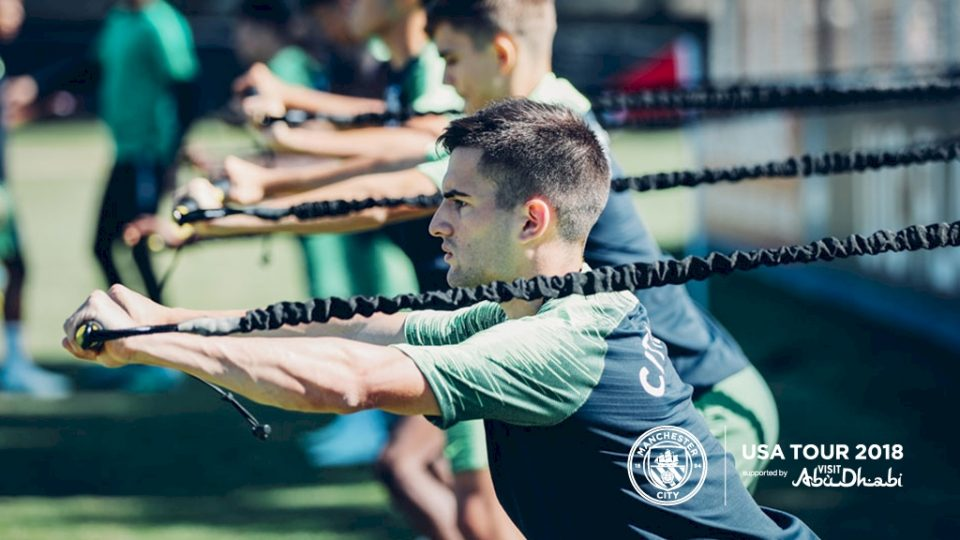Манчестер Сити тренировка