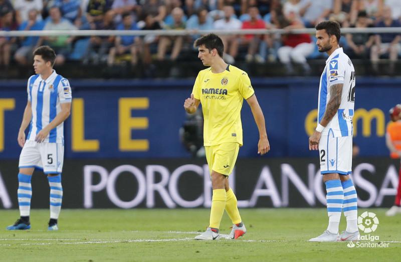 Жерар Морено в матче против «Реал Сосьедад»