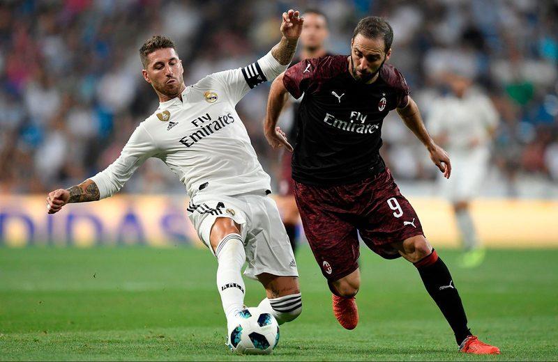 Реал Мадрид 3:1 Милан
