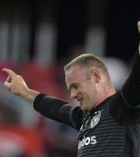 Уэйн Руни радуется победе «ДС Юнайтед» над «Орландо Сити»