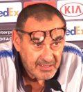Маурицио Сарри на пресс-конференции перед матчем с ПАОК