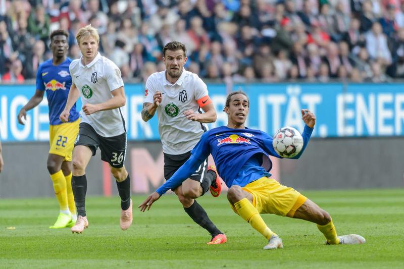 Аугсбург 0:0 РБ Лейпциг