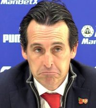 Унаи Эмери на пресс-конференции после выездного матча «Арсенала» против «Кристал Пэласа» (2:2)