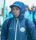 Фернандиньо в Лондоне перед выездным матчем «Манчестера Сити» против «Тоттенхэма»