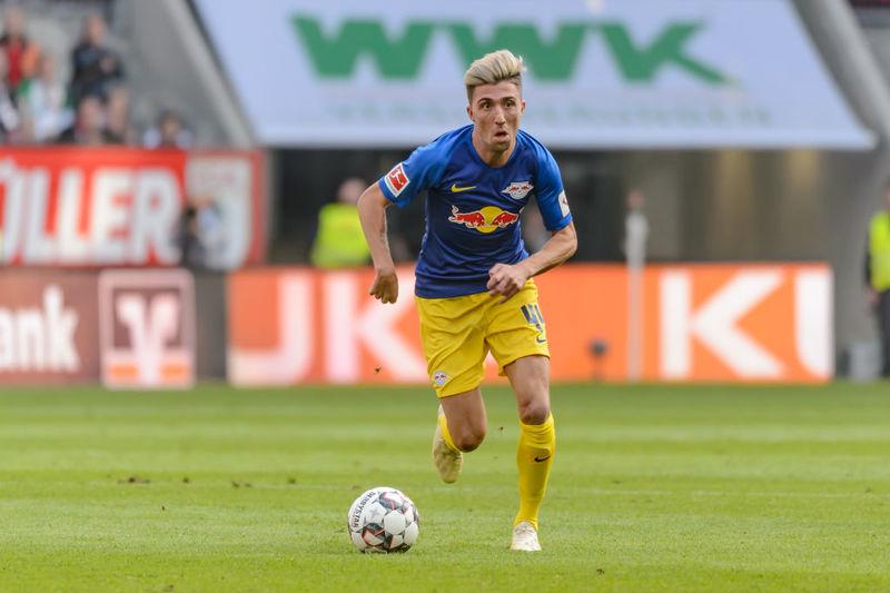 Кевин Кампль в выездном матче «РБ Лейпцига» против «Аугсбурга» (0:0)