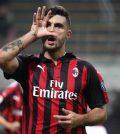 Патрик Кутроне в домашнем матче «Милана» против «Сампдории» (3:2)