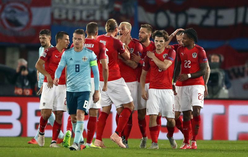 Австрия 1:0 Северная Ирландия