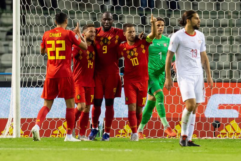 Бельгия 2:1 Швейцария