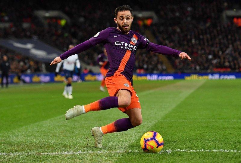 Бернарду Силва в выездном матче «Манчестера Сити» против «Тоттенхэма» (0:1)