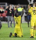 Джонатан Менса после выездного матча «Коламбус Крю» против «ДС Юнайтед» (2:2, пен. 2:3)