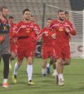 Игроки сборной Мальты на тренировке