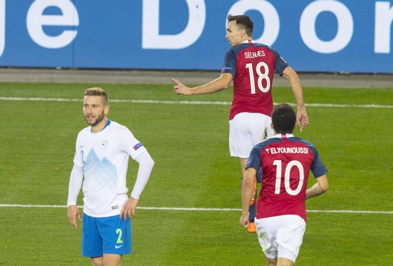Норвегия 1:0 Словения