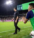 «Реал Солт-Лейк» после финального свистка в выездном матче против «Лос-Анджелеса» (2:3)