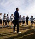 «Реал Солт-Лейк» на тренировке перед выездным матчем против «Лос-Анджелеса»