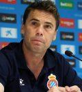 Руби на пресс-конференции перед домашним матчем «Эспаньола» против «Атлетика»