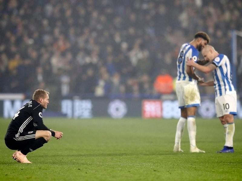 Контраст эмоций в домашнем матче «Хаддерсфилда» против «Фулхэма» (1:0)