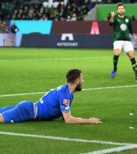 Фото с матча Вольфсбург 2:2 Хоффенхайм