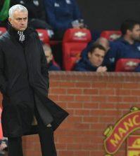 Жозе Моуринью в домашнем матче «Манчестер Юнайтед» матче против «Фулхэма» (4:1)