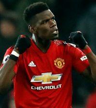 Поль Погба в домашнем матче «Манчестер Юнайтед»против «Брайтона» (2:1)