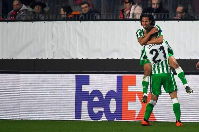 Фото с матча Ренн 3:3 Реал Бетис