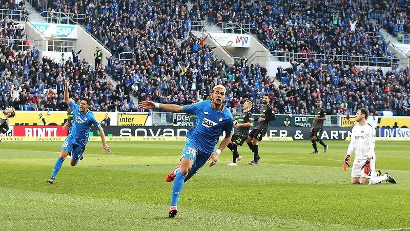 Фото с матча Хоффенхайм 3:0 Ганновер