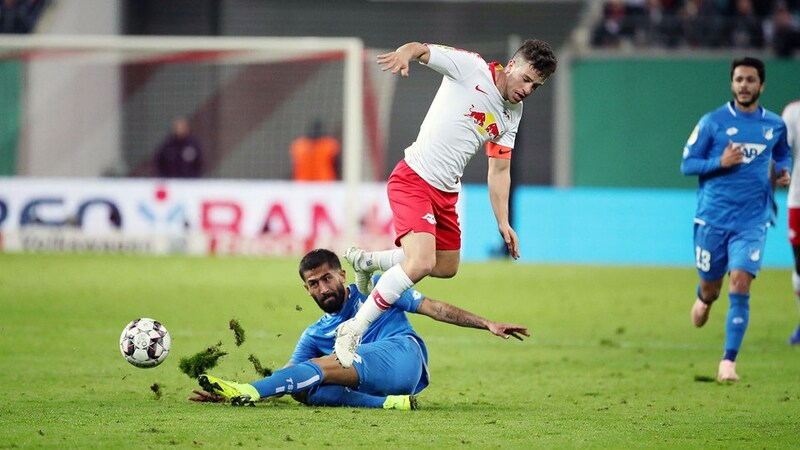 Фото с матча РБ Лейпциг 2:0 Хоффенхайм