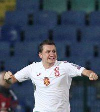 Фото с матча Болгария 1:1 Черногория