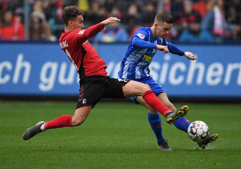Фото с матча Фрайбург 2:1 Герта