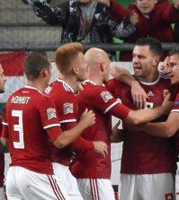 Фото с матча Венгрия 2:0 Финляндия