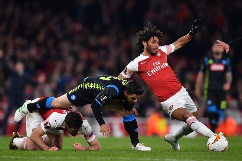 Фото с матча Арсенал 2:0 Наполи