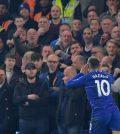 Эден Азар в домашнем матче «Челси» против «Вест Хэма» (победа 2:0)