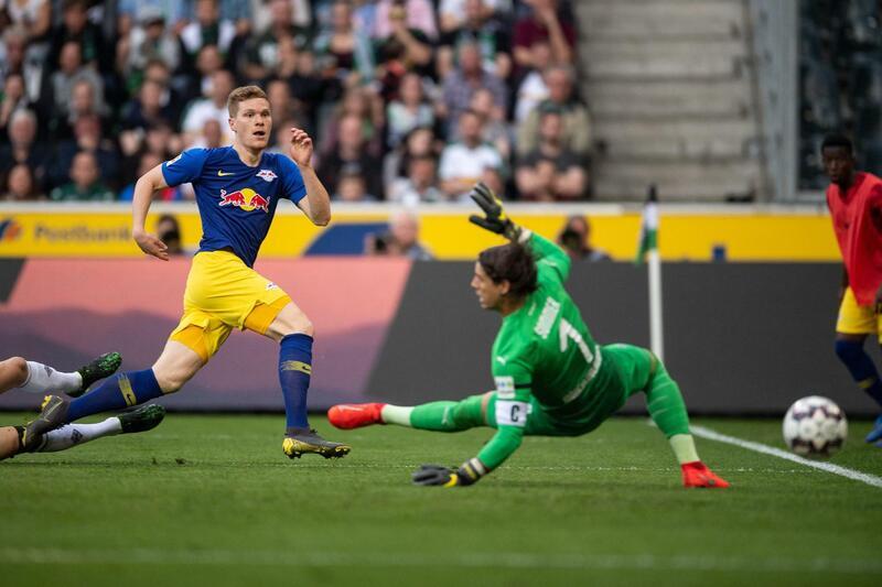 Фото с матча Боруссия Мёнхенгладбах 1:2 РБ Лейпциг