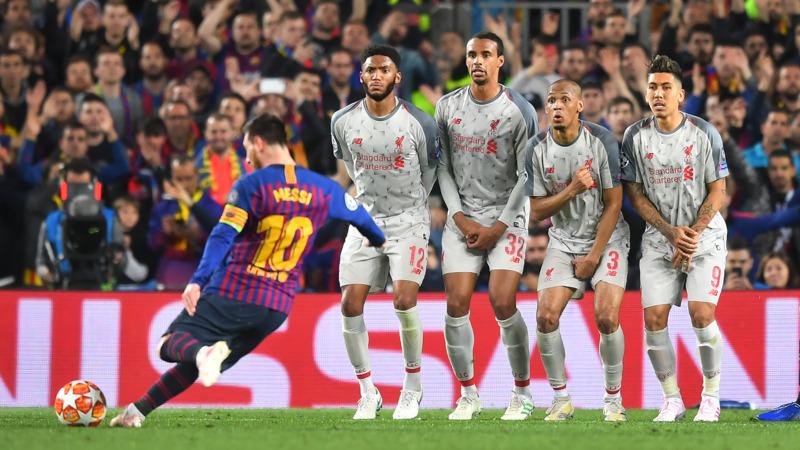 Фото с матча Барселона 3:0 Ливерпуль