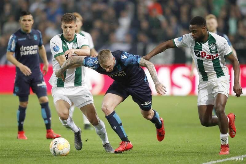 Фото с матча Гронинген 2:1 Витесс