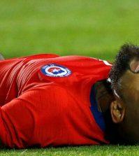 Фото с матча Эквадор 1:2 Чили
