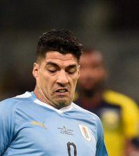 Фото с матча Уругвай 4:0 Эквадор