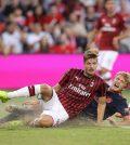 Фото с матча Бавария 1:0 Милан