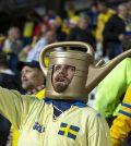 Фото с матча Фарерские острова 0:4 Швеция