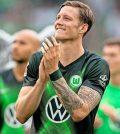 Фото с матча Вольфсбург 1:1 Гамбург