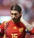 Фото с матча Испания 4:0 Фарерские острова