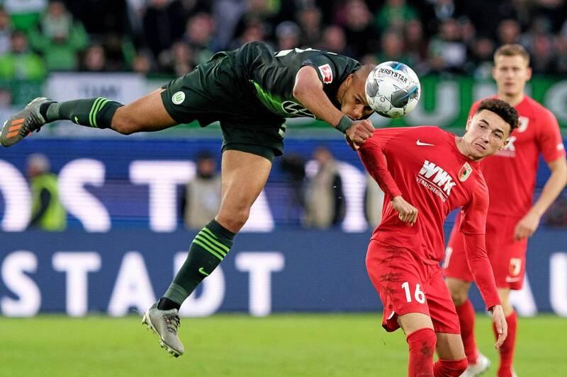 Фото с матча Вольфсбург 0:0 Аугсбург