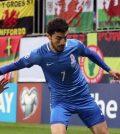 Фото с матча Азербайджан 0:2 Уэльс