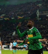 Фото с матча Боруссия Мёнхенгладбах 2:1 Рома