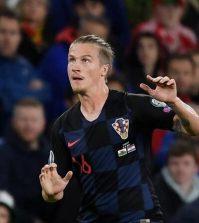 Фото с матча Уэльс 1:1 Хорватия