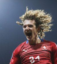 Фото с матча Чехия 2:1 Косово