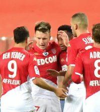 Фото с матча Монако 1:0 Дижон