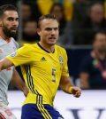 Фото с матча Швеция 1:1 Испания